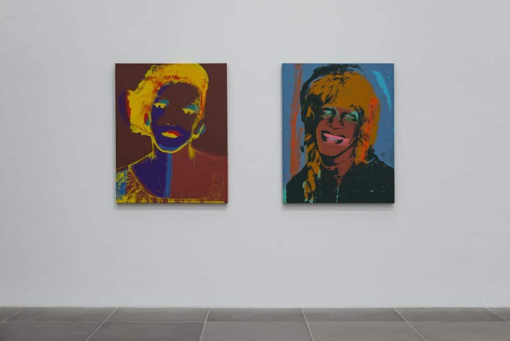"""""""Painterly.Von Warhol und Twombly bis heute – Malerei aus dem Museum Brandhorst"""" · Andy Warhol, """"Ladies And Gentlemen"""", 1975, Foto: Annette Kradisch"""