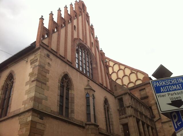 Rathaussaal Nürnberg, Ostfassade ©Alexander Racz 2014