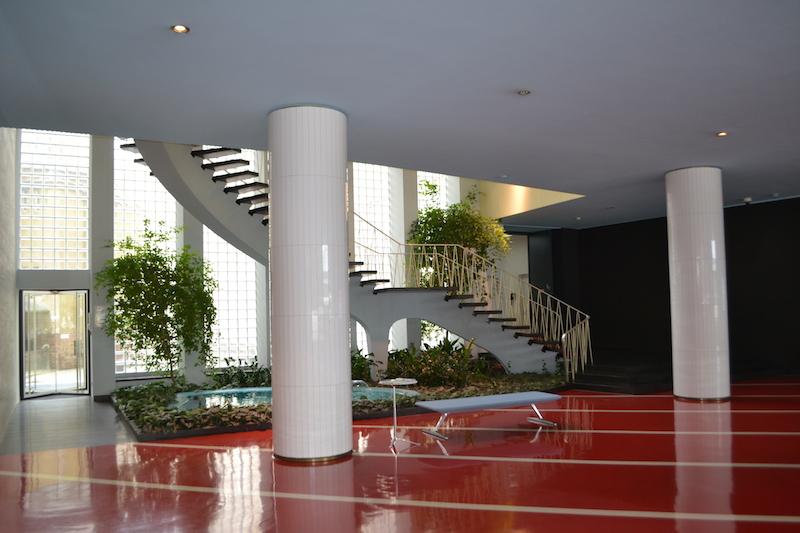 Plärrer-Hochhaus Nürnberg, Foyer © Alexander Racz, Kunstnürnberg