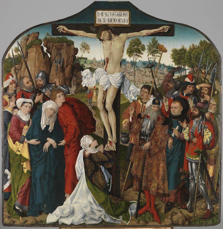 Kalvarienberg – GNM kauft ein spätmittelalterliches Tafelbild