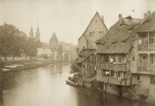 Historische Aufnahme der Pegnitz, Nürnberg © Stadtarchiv Nürnberg