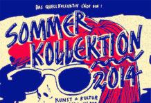 Flyer für die Veranstaltung Sommerkollektion 2014, ©Quellkollektiv e. V.