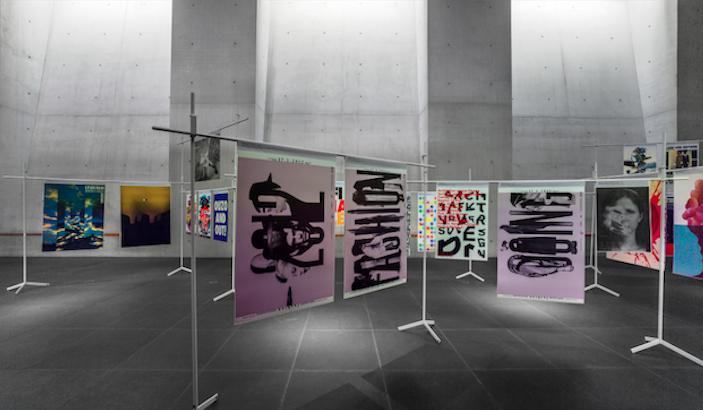 "Blick in die Ausstellung ""100 beste Plakate 12"" © Rainer Viertelböck, Neues Museum Nürnberg"