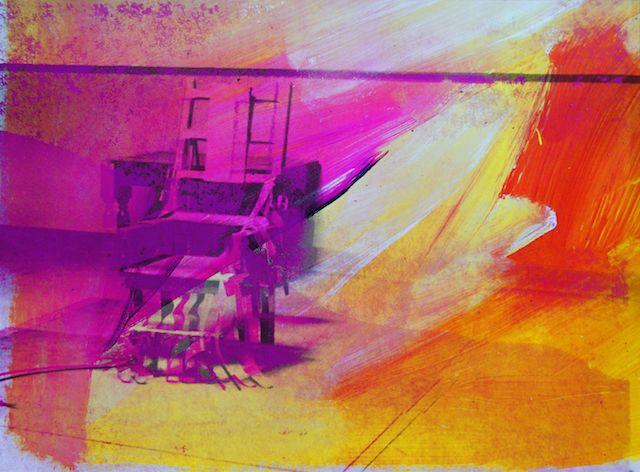 Andy Warhol, Electric Chairs, 1972 10 Siebdrucke, jeweils 122,5 x 90,5 cm, Städtische Sammlung Erlangen 19.04.2014, Größe: 3468 KB, Format: JPG