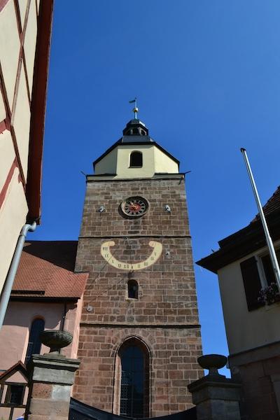 Chorturm von St. Lorenz in Großgründlach, Nürnberg © Alexander Racz 2014