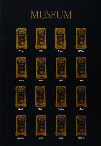 Marcel Broodthaers, Museum-Museum, 1972 2 Siebdrucke, jeweils 84 x 59 cm, © VG Bild-Kunst, Bonn 2014, Städtische Sammlung Erlangen 24.04.2014, Größe: 1875 KB, Format: JPG