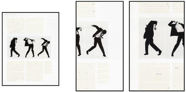Natalie Czech, A poem by repetition by Allen Ginsberg, 2013 3 color-prints, 3 Rahmen, Museumsglas, 3 Teile, Teil 1: 114 x 87.3 cm, Teil 2: 140.1 x 72.7 cm, Teil 3: 140.1 x 83.9 cm, 5 Editionen, 2 AP, Deichtorhallen Hamburg / Sammlung Falckenberg, © Natalie Czech, Courtesy Capitain Petzel, Berlin 23.04.2014, Größe: 3071 KB, Format: JPG