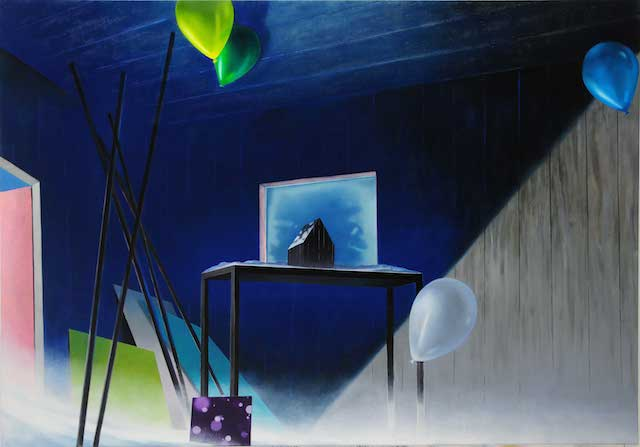 Gerhard Rießbeck, im Atelier, © Gerhard Rießbeck