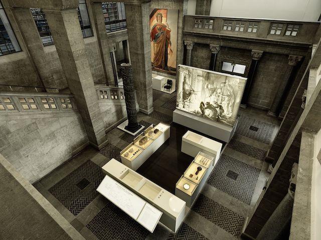 Blick in den neu eingerichteten Ausstellungsraum des GNM Nürnberg © GNM