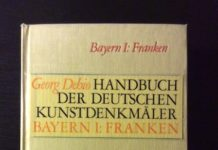 Georg Dehio, Handbuch der deutschen Kunstdenkmäler, Bayern I: Franken