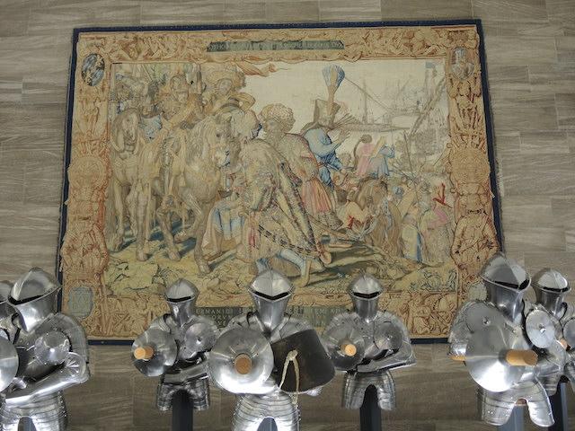 Wandteppich mit Szenen des Pfalzgrafen Otto von Wittelsbach im GNM Nürnberg