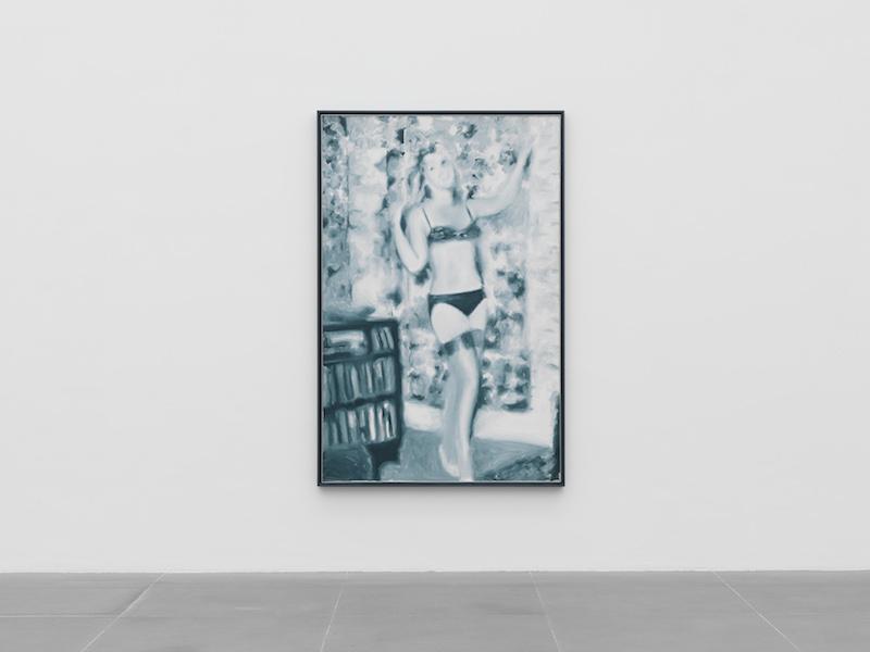 Gerhard Richter, Abstraktes Bild, 1991 Neues Museum in Nürnberg, Leihgabe Sammlung Böckmann, Foto Neues Museum in Nürnberg (Annette Kradisch)