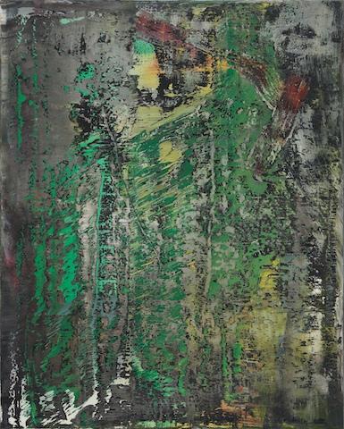 Gerhard Richter, Abstraktes Bild, 1988. Leihgabe aus Privatsammlung. © Gerhard Richter, 2014. Foto: Neues Museum (Annette Kradisch)