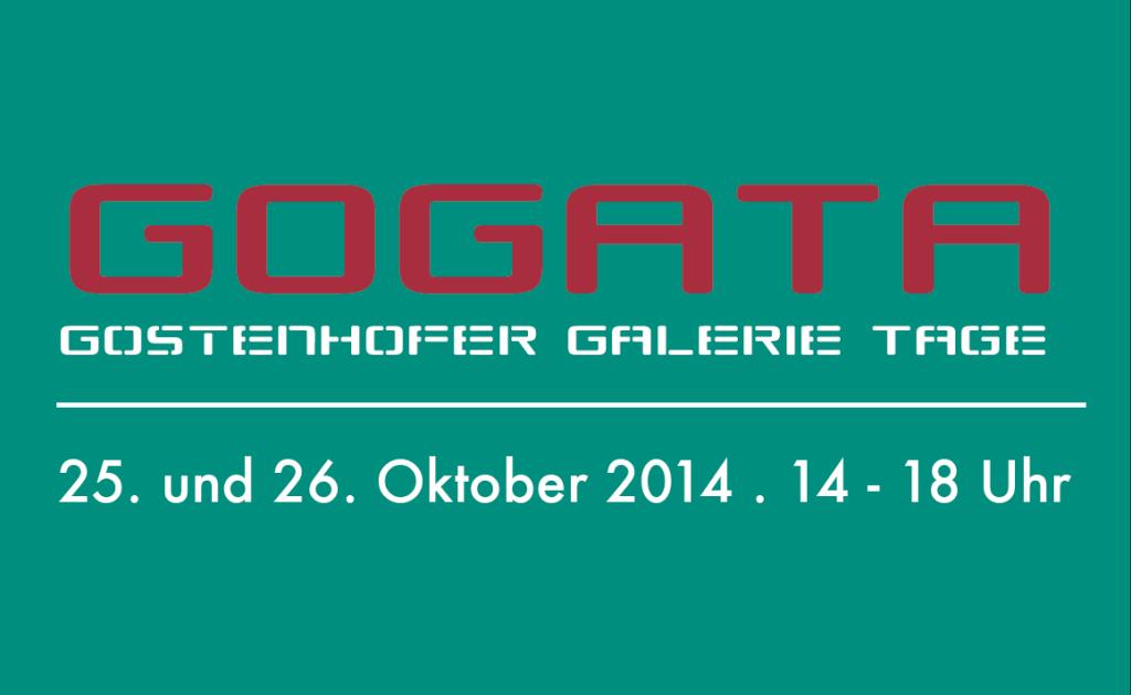 GoGaTa 2014 Gostenhofer Galerie Tage