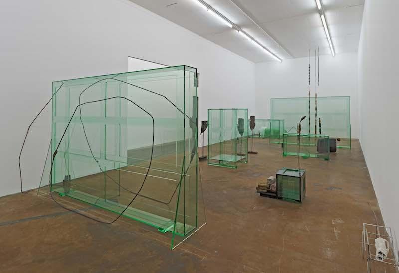 Installation Glas Tatiana Trouvé