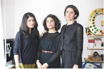 Fatma, Vecihe und Ayse vom Modelabel Vätsch