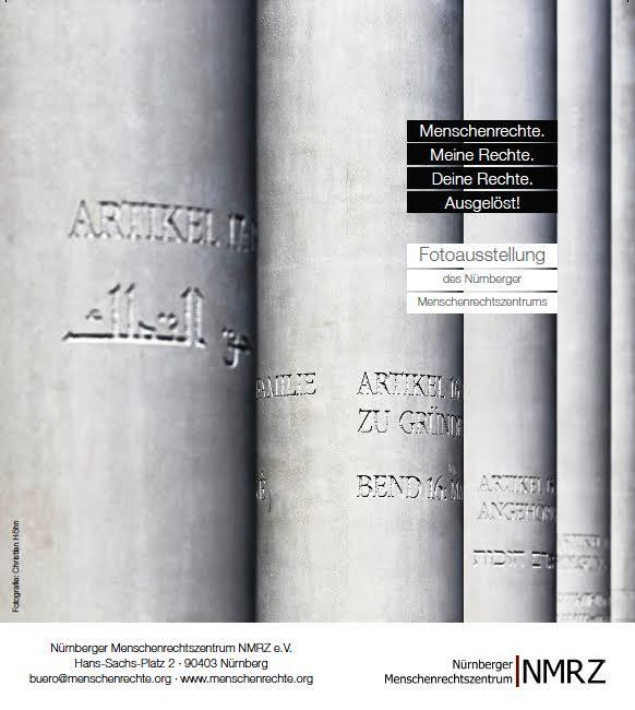 Fotowettbewerb Menschenrechte Flyer Vorderseite © http://fotowettbewerb.menschenrechte.org