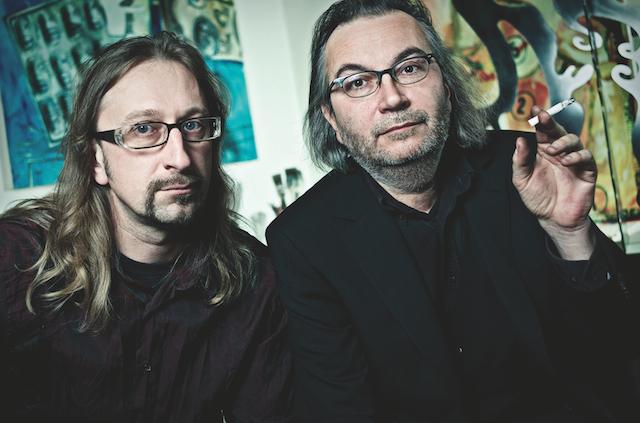 Die Künstlerbrüder Guido und Johannes Häfner, © Marc Salomon