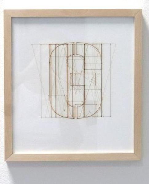 Sarah Erath: Wasauchimmerheutegeschieht, 2013, Karton, Laserschnitt, 30 x30 cm, © Sara Erath