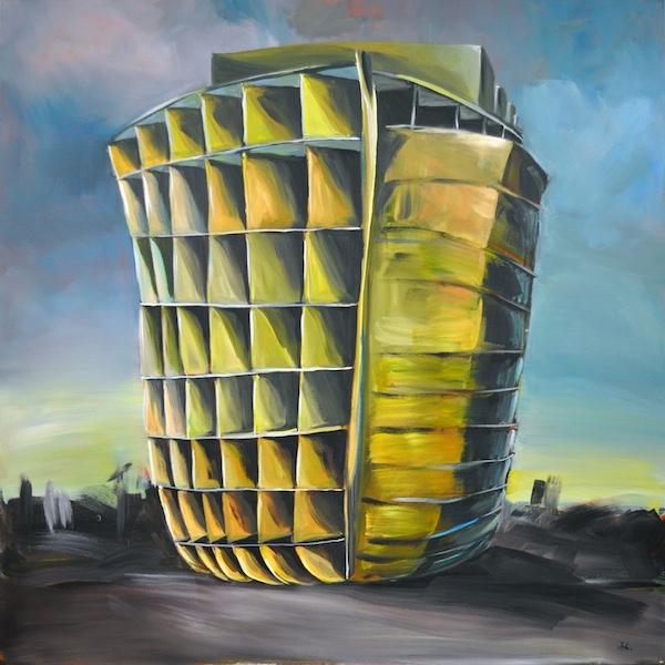 Johannes Häfner: Arche Noah, 2014, 120 x 120 cm, © Johannes Häfner