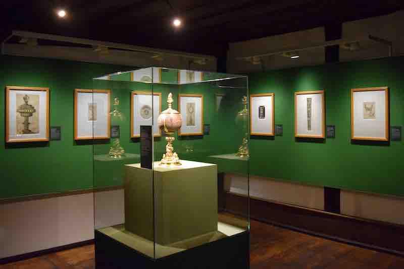 "Blick in die Austellung ""Peter Flötner. Renaissance in Nürnberg"" © Museen der Stadt Nürnberg, Albrecht-Dürer-Haus"