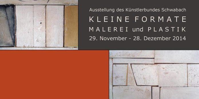 Kleine Formate, Künstlerbund Schwabach