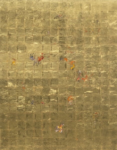 Michael Burges: Reverse Glass Painting No 26, © Galerie LandskronSchneizik
