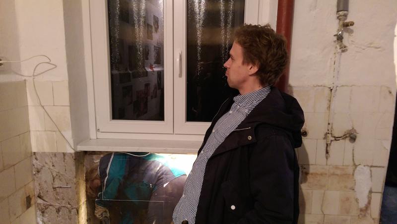 Lilly Urbat: Die Frau im Abgrund, 28.01.2015, Vernissage, im Edel Extra, Nürnberg, © Alexander Racz