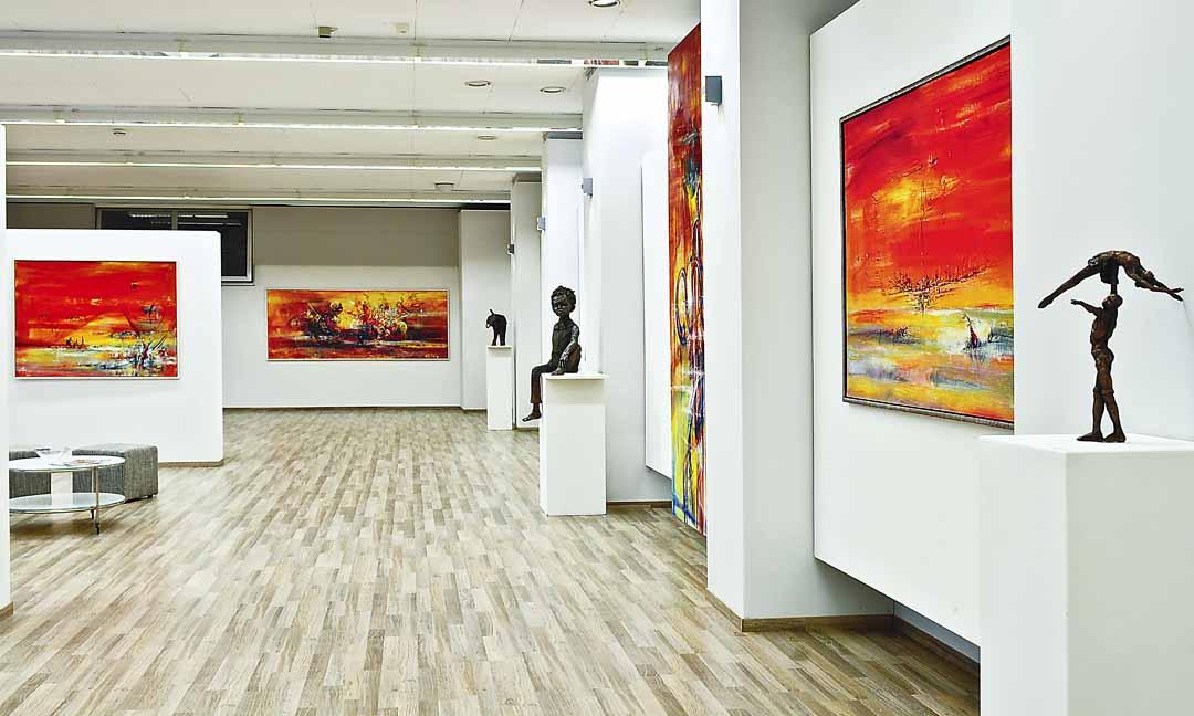 Stadtteilgalerie LeonART, Foto: Ernst Jocher