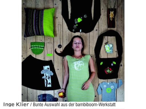 Inge Klier: Bunte Auswahl aus der bambiboom-Werkstatt