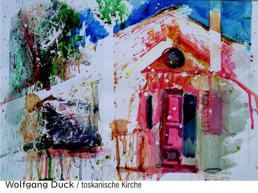 Wolfgang Duck: Toskanische Kirche