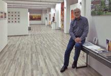 Ernst Jocher in seiner Galerie LeonART, Foto: Alexander Racz