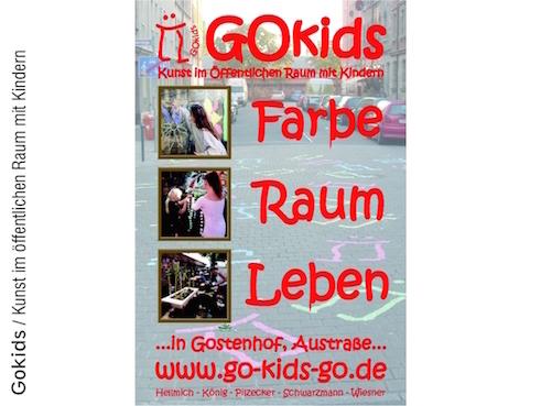 GoKids: Kunst im öffentliche Raum mit Kindern