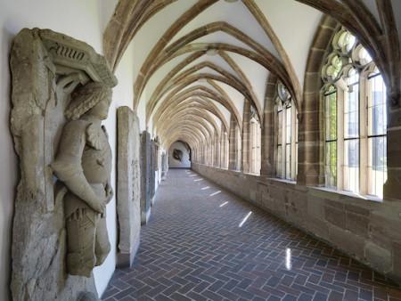 Der Kreuzgang des ehemaligen Kartäuserklosters in Nürnberg, heute GNM