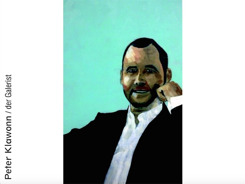 Peter Klawonn: Der Galerist