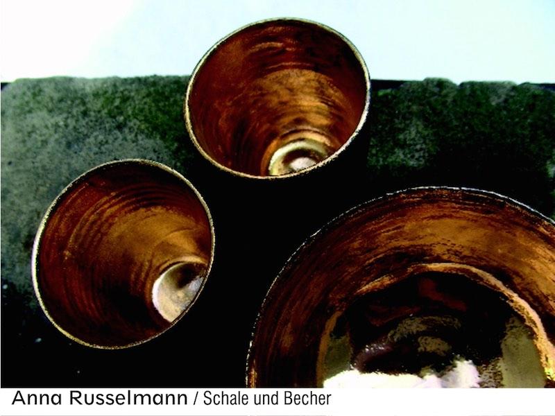 Anna Russelmann: Schale und Becher