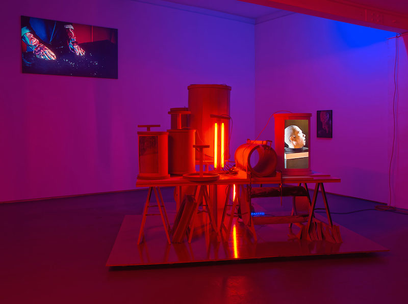 Ausstellung Malte Bruns, 2015, © Galerie Sturm