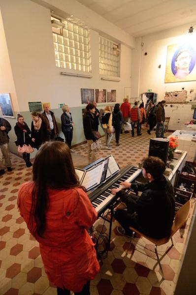 Impressionen der Ausstellung von Kontakt-das Kulturfestival im Jahr 2014