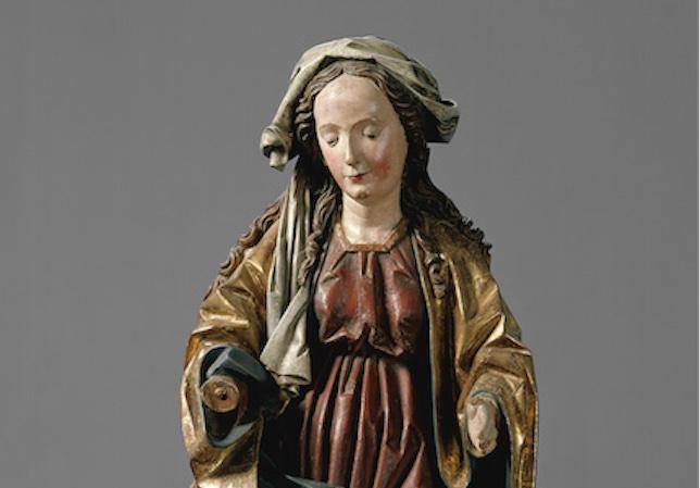 Hans Klocker- Thronende Muttergottes, um 1495 © GNM