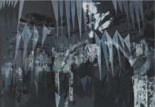 Birke Bonfert: o.T, 2014, 173 x 187 cm, Öl auf Leinwand