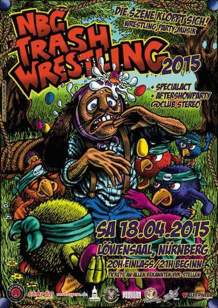 NBG TRASH WRESTLING 2015