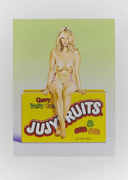 Mel Ramos: Jujy Fruits, Galerie Hafenrichter