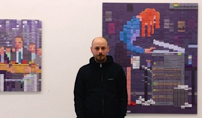 Interview with Oleksiy Say about his Excel Art