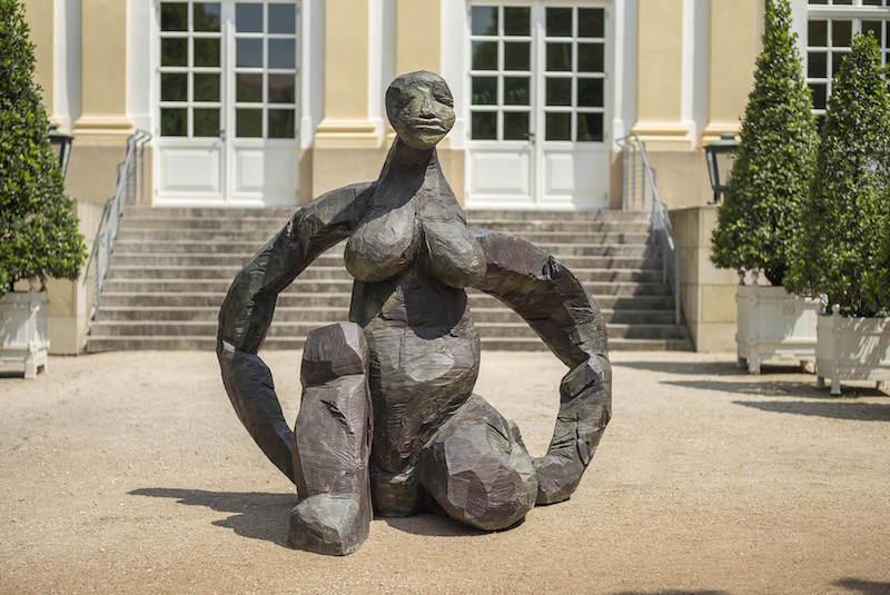 Dietrich Klinge: Skulpturenmeile 2015 in Ansbach, Schloss