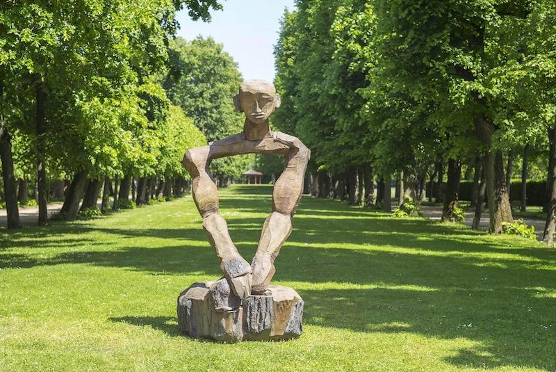 Dietrich Klinge: Skulpturenmeile 2015 in Ansbach, Hofgarten