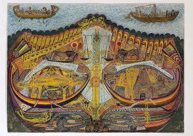 Boote des Königs, Kunst Galerie Fürth
