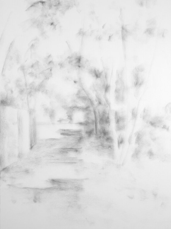 Cherith Lundi, Path, Ausstellung The same river twice im Galeriehaus Nord, © the artist