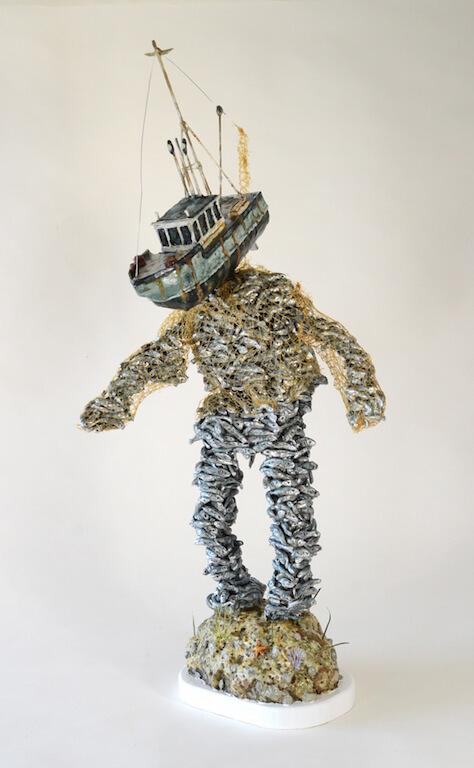 Jude Griebel: Trawl, Ausstellung Wasted, © Galerie Sturm