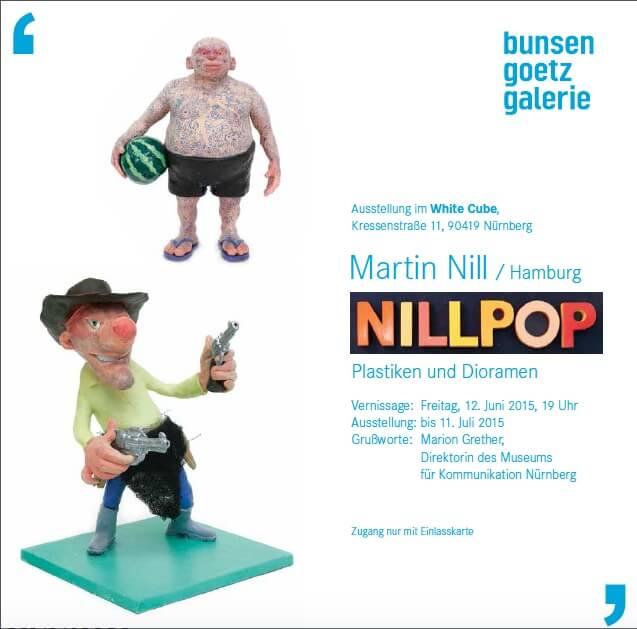 NILLPOP - Martin Nill in der Bunsen Goetz Galerie