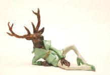 "Martin Nill: Transvestit, Ausstellung ""nillpop"" Bunsen Goetz Galerie Nürnberg"